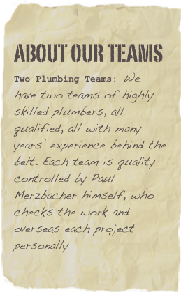 about our teams