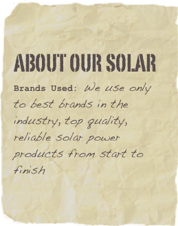about our Solar